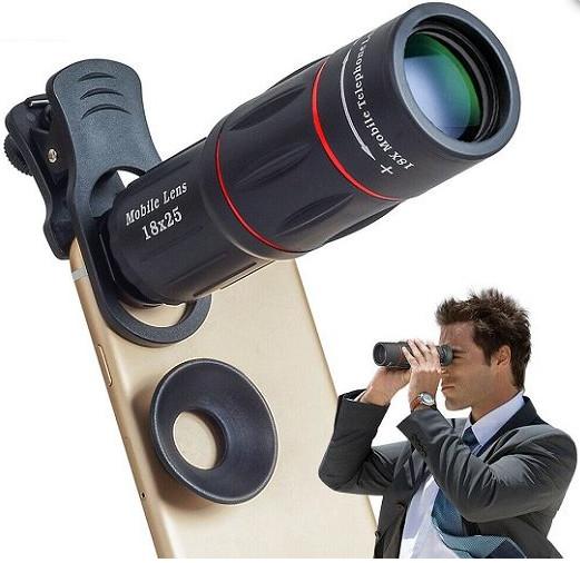 18X Telescope Zoom Smartphone Lens