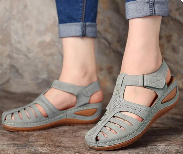 Premium Orthopedic Round Toe Sandals