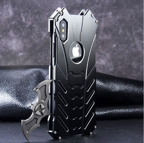 Batman Metal Slim Shockproof Case For iPhone