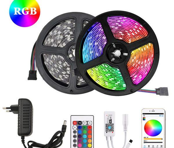 Colorful RGB LED Strip Lights