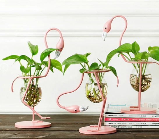 Flamingo Decorative Planter