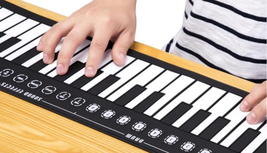 Hand Roll Portable Piano