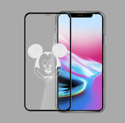 Mickey Invisible Glass Film For Iphone