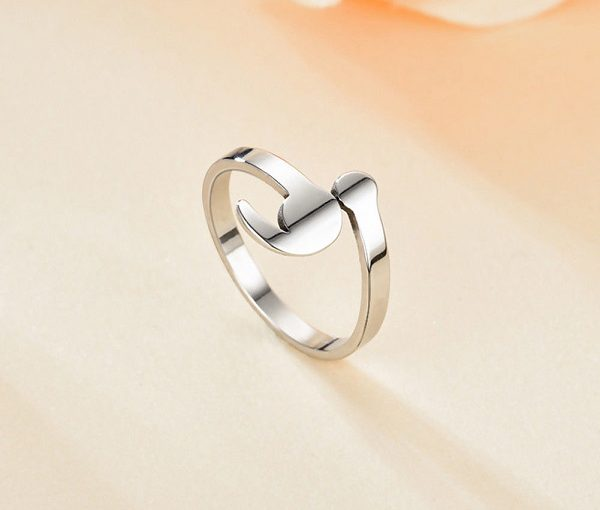 Semicolon Adjustable Ring