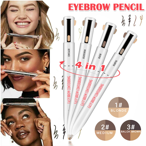 4-in-1 Brow Contour and Highlight Pen