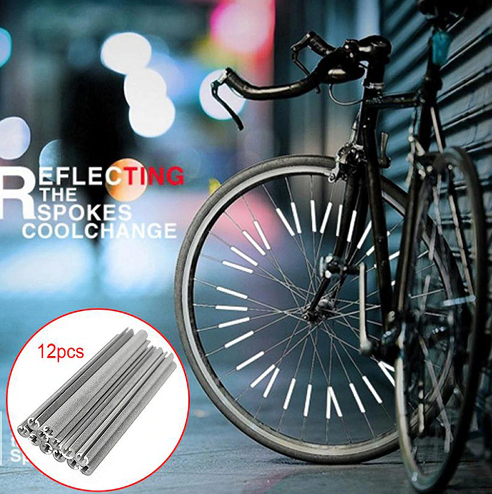 Bicycle Wheel Spoke Reflector