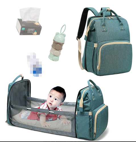 2 in 1 Multi-Functional Travel Mommy Bags