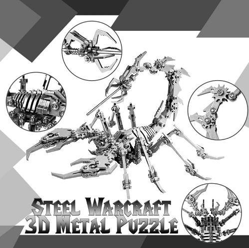 3D Metal Puzzles