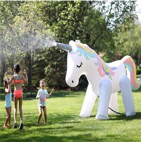 Gigantic Unicorn & Elephant Backyard Sprinkler