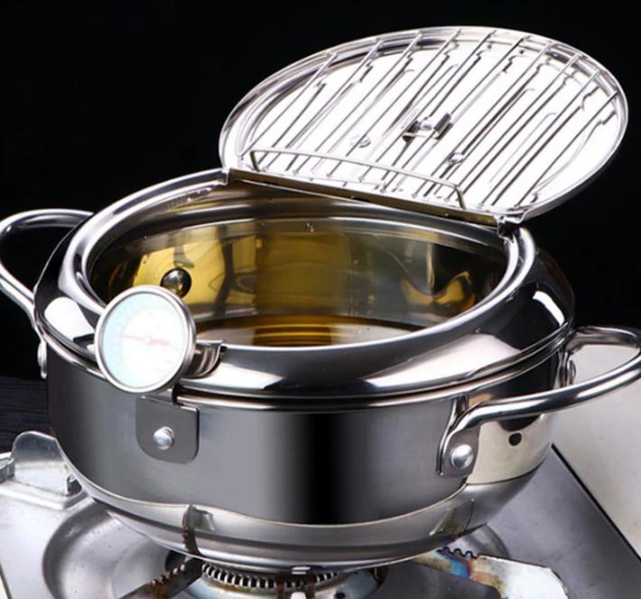 Deep Frying Pot Temperature Control