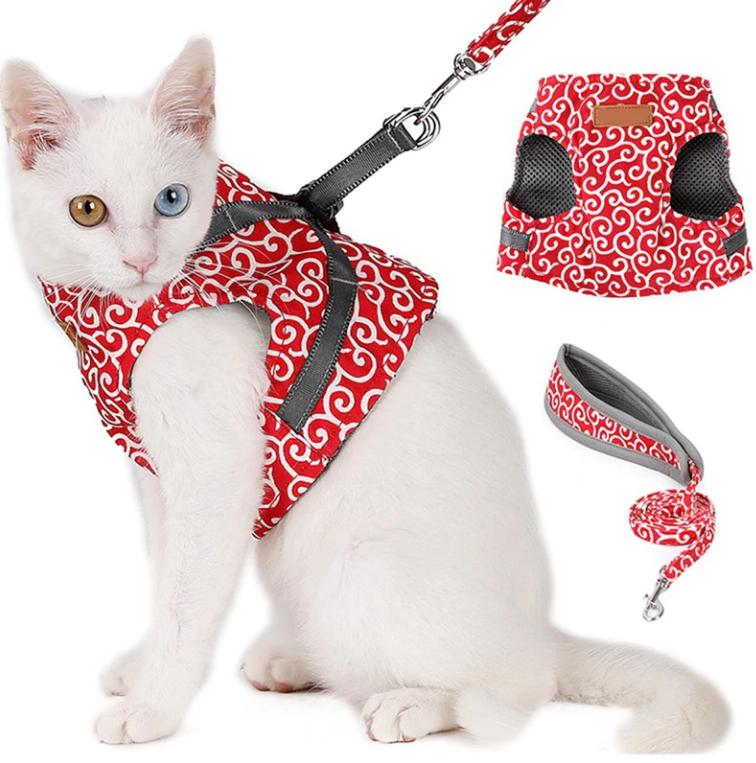 Pet Vest Harness Leash Set