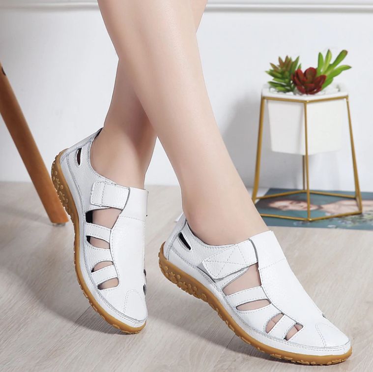 Women's Hollow Hook Sandals