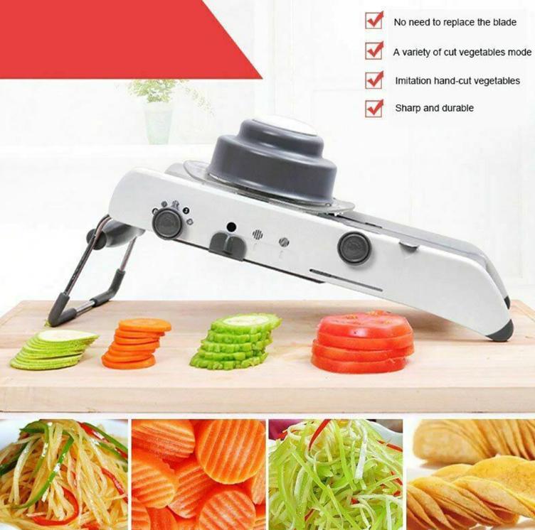 Multi-Functional Vegetable Slicer