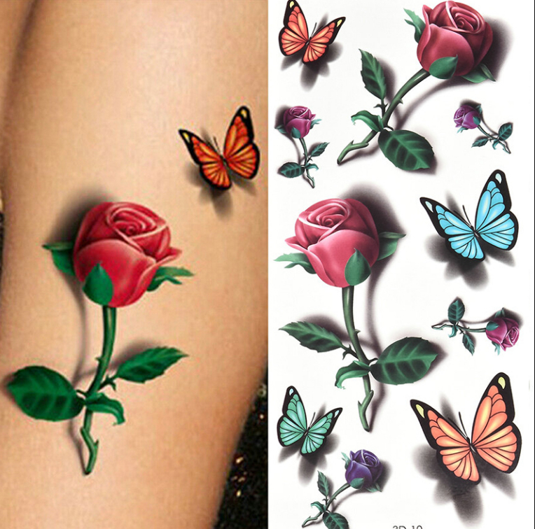 Temporary Tattoos Sticker