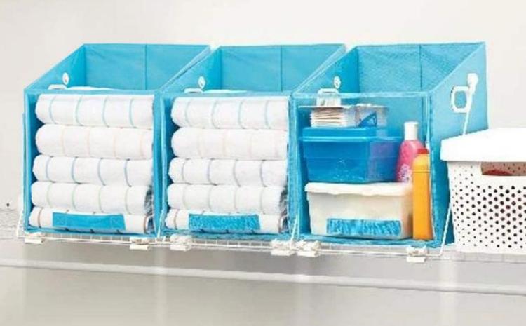Closet Caddy Foldable Storage Box
