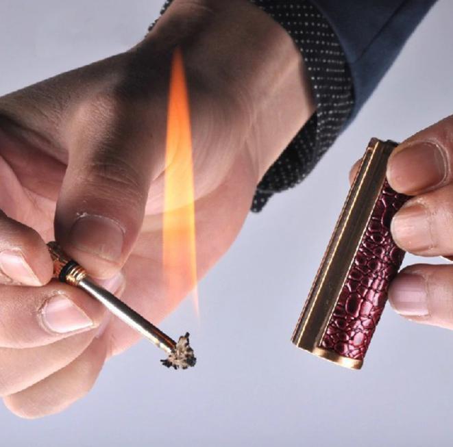 Free Fire Metal Retro Match Lighter