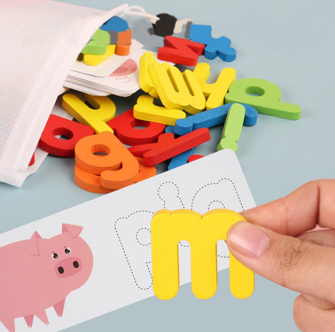Spelling Word Puzzle Game Toy Set