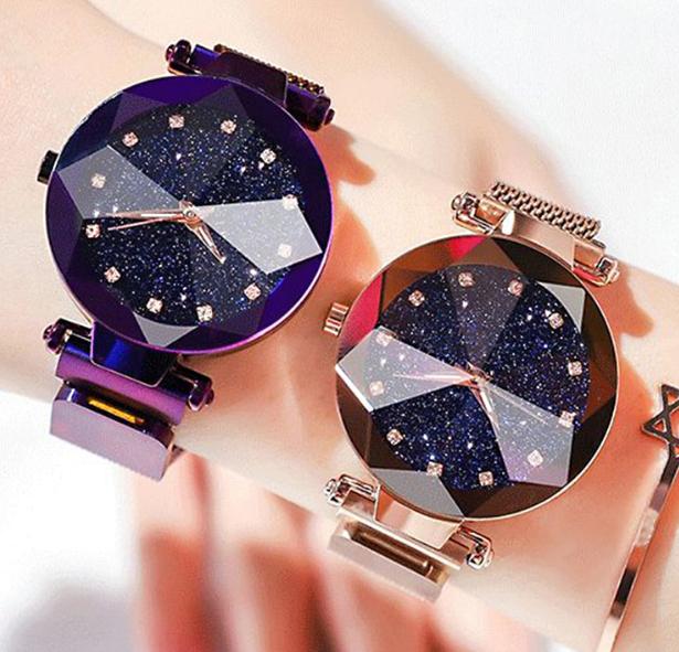 Starry Sky Clock Luxury Women Watch