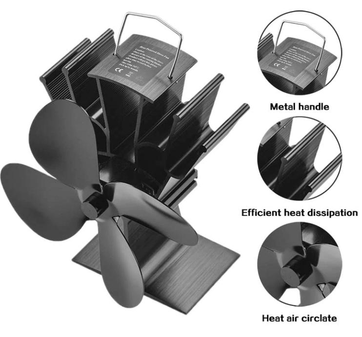 Heat-Powered Stove Fan