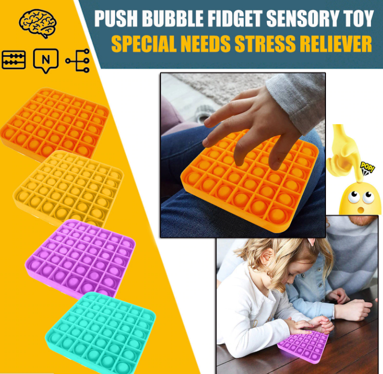 Push Pop Bubble Sensory Toy