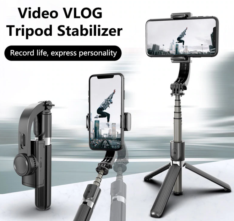 Bluetooth Handheld Smooth Gimbal with Stabilizer
