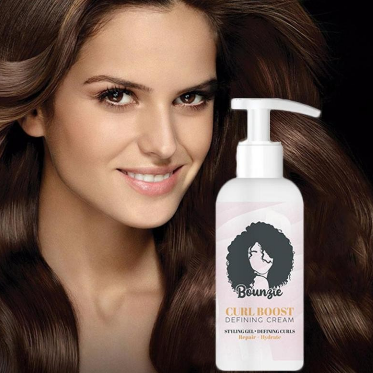 Curl Boost Hairstyle Cream